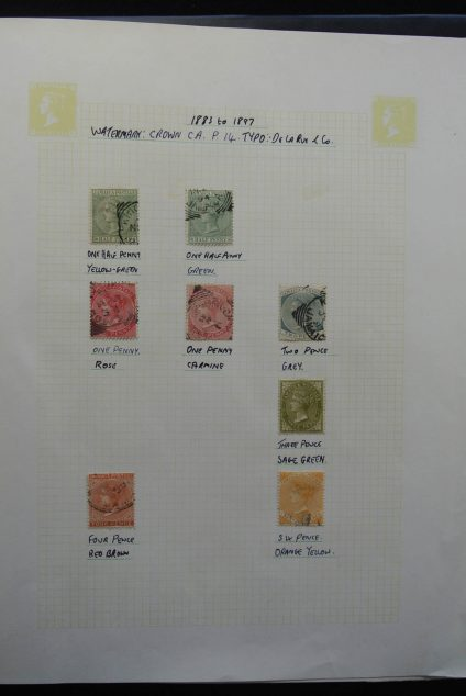Stamp collection 26141 Jamaica and Trinidad & Tobago 1860-1980.