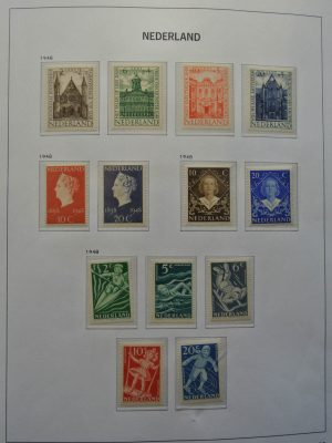Stamp collection 26209 Netherlands 1948-1980.