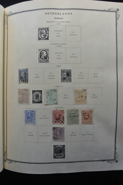 Stamp collection 26225 Netherlands and colonies 1869-1992.
