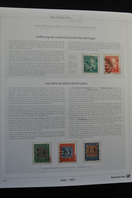 Stamp collection 26248 Bundespost 1949-2009.