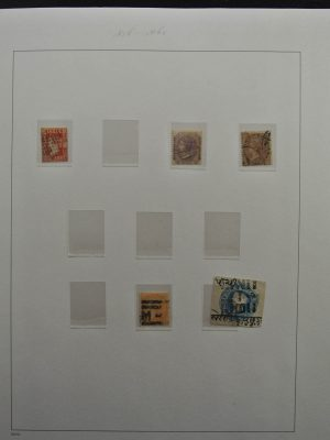Stamp collection 26270 India and States 1856-2013!