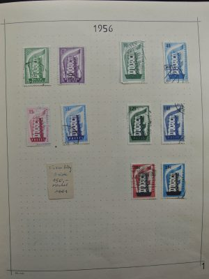 Stamp collection 26296 CEPT 1956-1999.