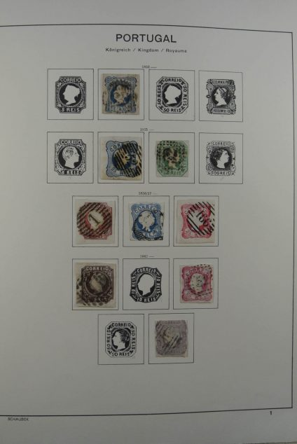 Stamp collection 26306 Portugal 1853-1990.