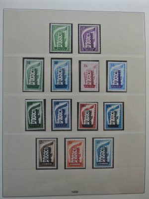 Stamp collection 26352 Europa CEPT 1956-1999.