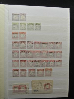 Stamp collection 26368 German Reich used.