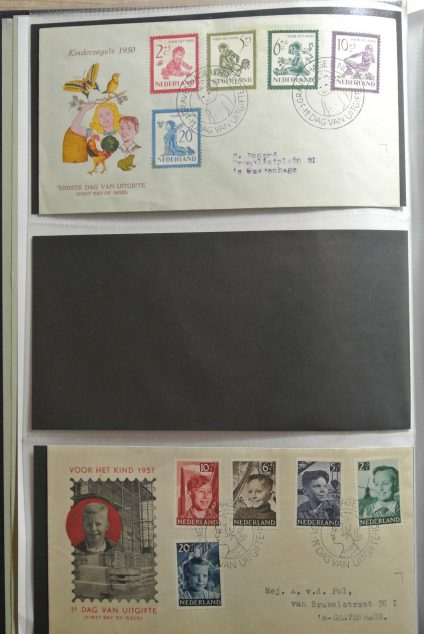 Stamp collection 26417 Netherlands 1950-2013 FDC's.