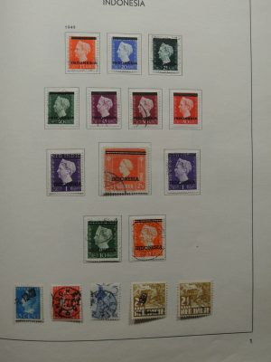 Stamp collection 26420 Indonesia 1949-1990.