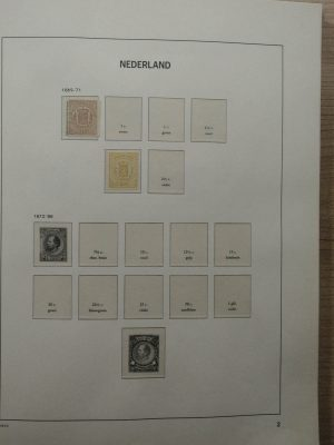 Stamp collection 26430 Netherlands 1869-1982.