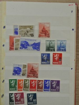Stamp collection 26465 Norway 1931-1975.