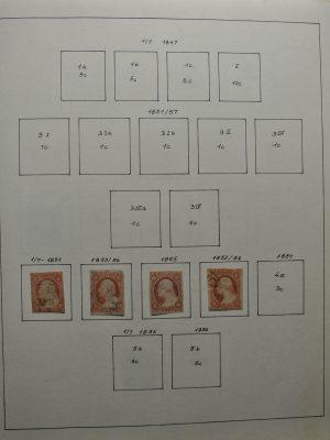 Stamp collection 26507 USA 1851-1999.