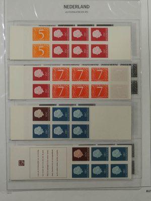 Stamp collection 26511 Netherlands 1964-1987 stamp booklets.