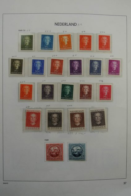 Stamp collection 26526 Netherlands 1949-1968.