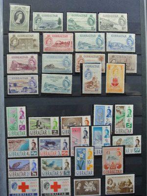 Stamp collection 26560 Gibraltar 1953-2012!