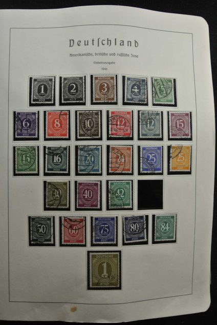 Stamp collection 26563 Germany 1945-1964.