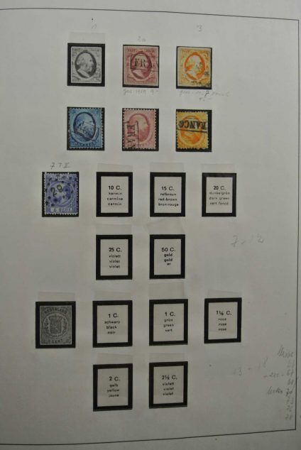 Stamp collection 26574 Netherlands 1852-1979.