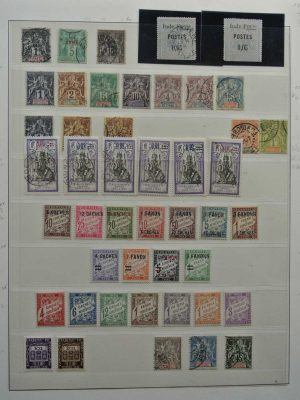 Stamp collection 26588 French Indies 1892-1950.