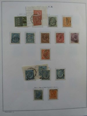 Stamp collection 26618 Italy 1862-2010.