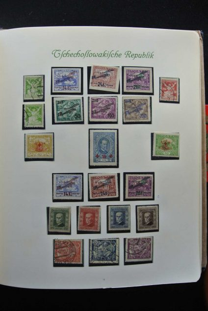 Stamp collection 26625 Czechoslovakia 1918-1983.