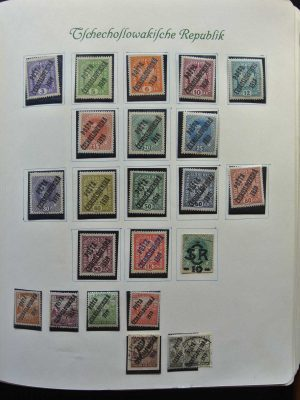 Stamp collection 26626 Czechoslovakia 1918-1988.