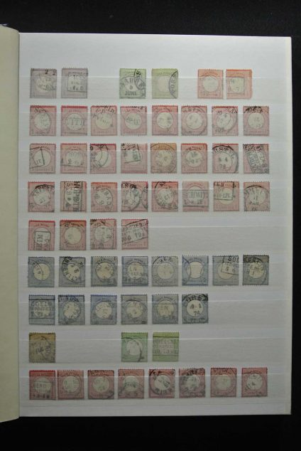 Stamp collection 26656 German Reich used.