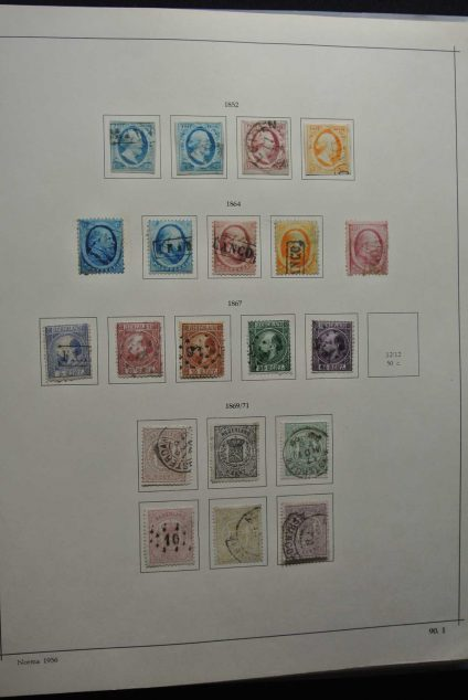 Stamp collection 26661 Netherlands 1852-1976.
