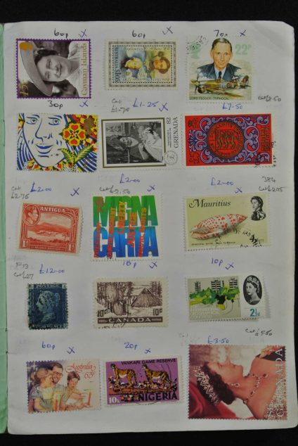 Stamp collection 26667 British colonies.