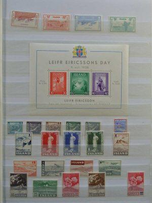 Stamp collection 26711 Scandinavia.