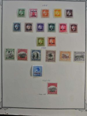 Stamp collection 26727 British Commonwealth 1919-1973.