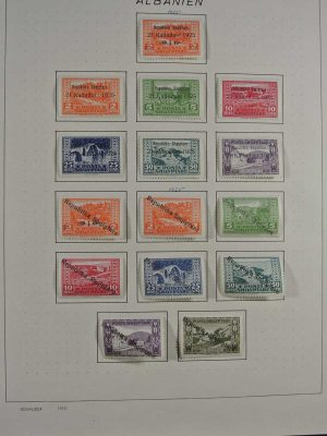 Stamp collection 26756 Albania 1914-1973.