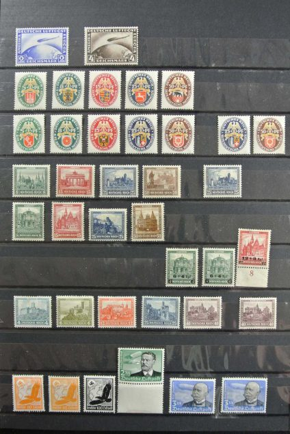 Stamp collection 26769 German Reich mint hinged.