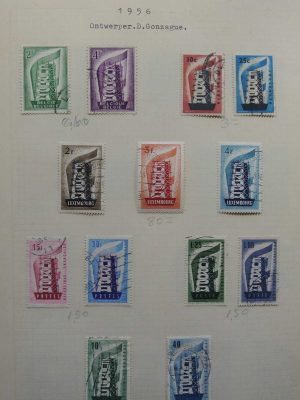 Stamp collection 26776 Europe CEPT 1956-1997.