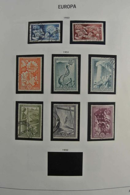 Stamp collection 26777 Europa CEPT 1950-1974.