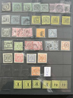 Stamp collection 26796 European countries.