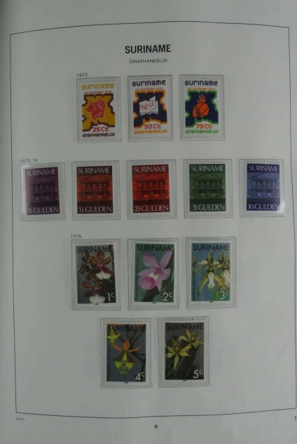 Stamp collection 26829 Suriname 1975-1994.