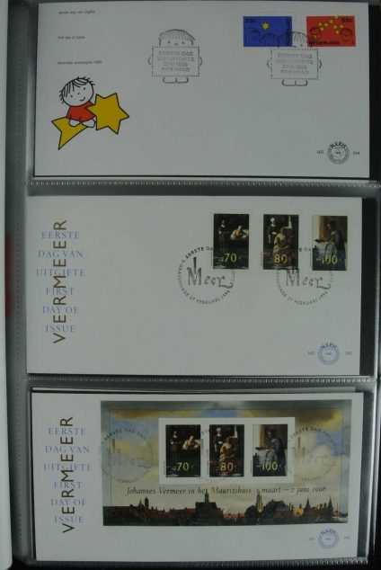 Stamp collection 26836 Netherlands FDC's 1995-2012.