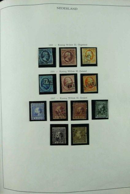 Stamp collection 26837 Netherlands 1852-1989.