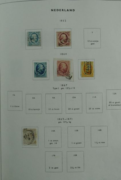 Stamp collection 26848 Netherlands 1852-2001.