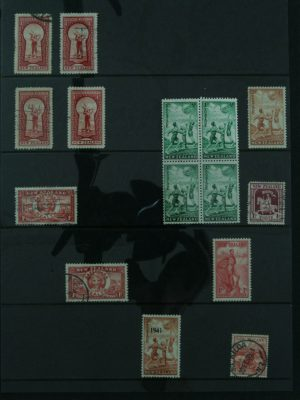 Stamp collection 26871 New Zealand 1900-1985.