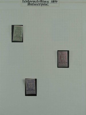 Stamp collection 26903 Belgium 1894-1967.