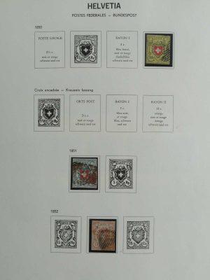 Stamp collection 26912 Switzerland 1850-1983.