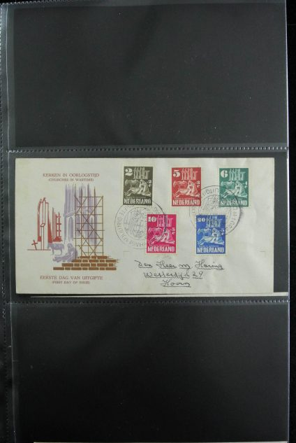 Stamp collection 26929 Netherlands 1950-2015 FDC's.