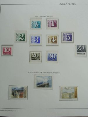 Stamp collection 26945 Great Britain 1970-2000.