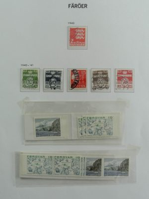 Stamp collection 26957 Faroe Islands 1975-2012.