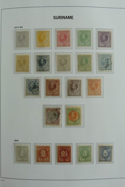 Stamp collection 26959 Suriname 1873-1989.