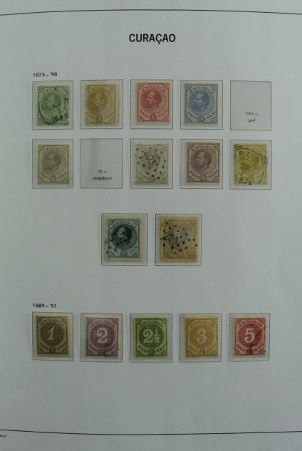 Stamp collection 26964 Curaçao 1873-2000.