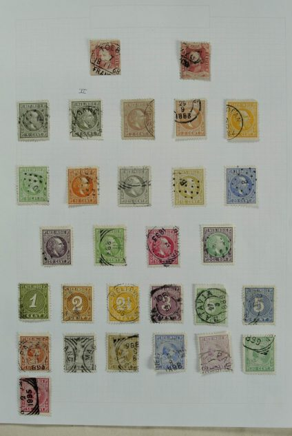 Stamp collection 26981 Dutch east Indies 1864-1948.