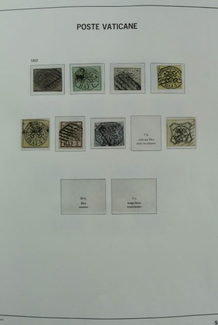Stamp collection 26994 Vatican 1852-2012.