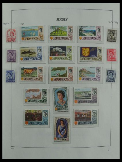 Stamp collection 27008 Channel Islands 1969-2009.