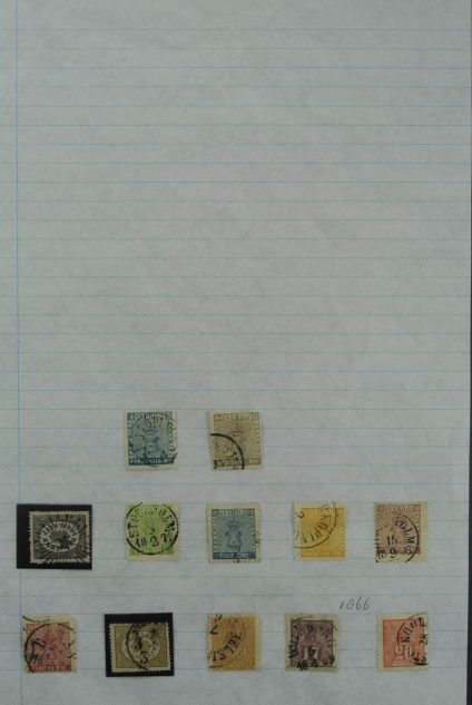Stamp collection 27018 Sweden 1855-2010.