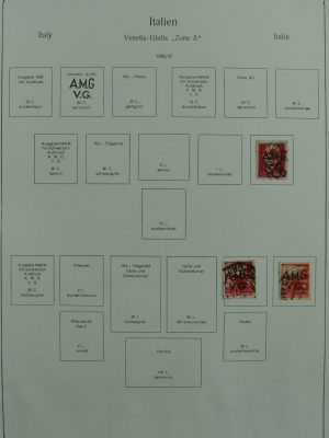 Stamp collection 27041 South Europe 1866-1954.